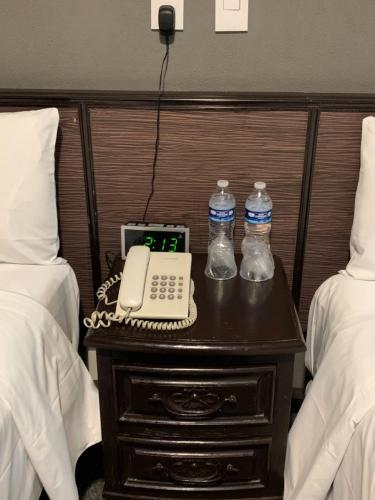 Telefono habitación de hotel